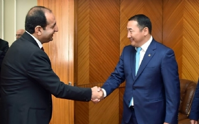 TURKISH DEPUTY MİNİSTER OF CUSTOMS AND TRADE IN MONGOLIA