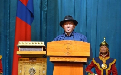 THE FIFTH PRESIDENT OF MONGOLIA HAS BEEN ELECTED