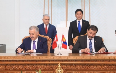 BILATERAL COOPERATION DOCUMENTS SIGNED BETWEEN MONGOLIA AND TURKEY