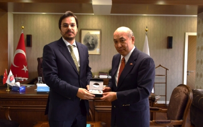 VISIT TO THE TURKISH RADIO AND TELEVISION CORPORATION (TRT)