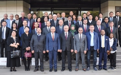 ASIAN AMBASSADORS GATHERED IN İNEGÖL, BURSA