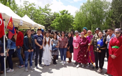 STUDENTS OF THE HACETEPPE UNIVERSITY REPRESENTED THEIR COUNTRY