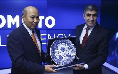 VISIT TO THE ANADOLU AGENCY