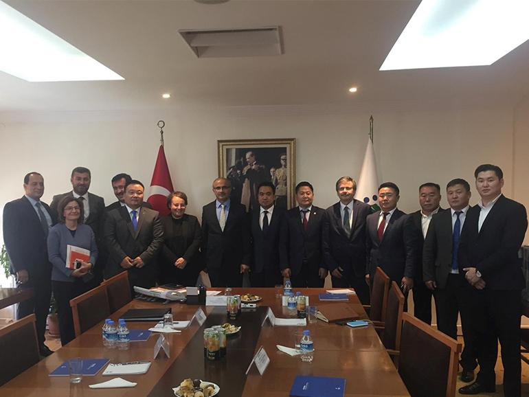 MONGOLIA'S STATE HOUSING CORPORATION (TOSK) DELEGATION IN TURKEY