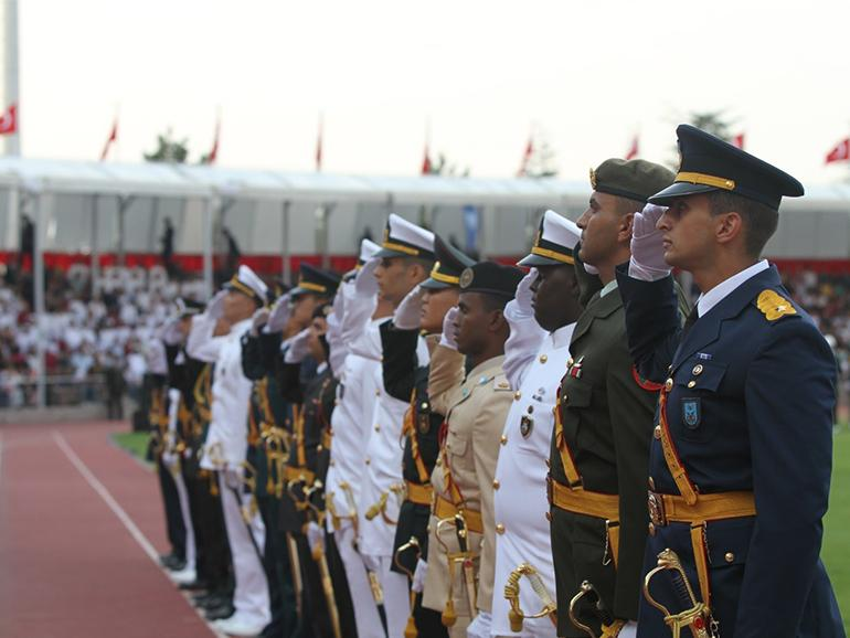 GRADUATION CEREMONY HELD AT THE NATIONAL DEFENSE UNIVERSITY OF TURKEY