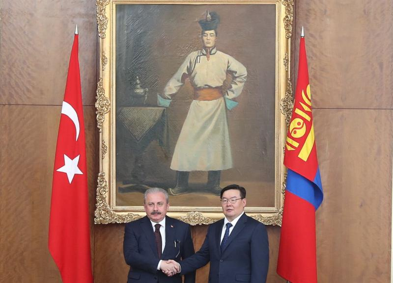 SPEAKER OF THE GRAND NATIONAL ASSEMBLY OF TURKEY (TBMM) H.E. MR. MUSTAFA ŞENTOP PAID AN OFFICIAL VISIT TO MONGOLIA