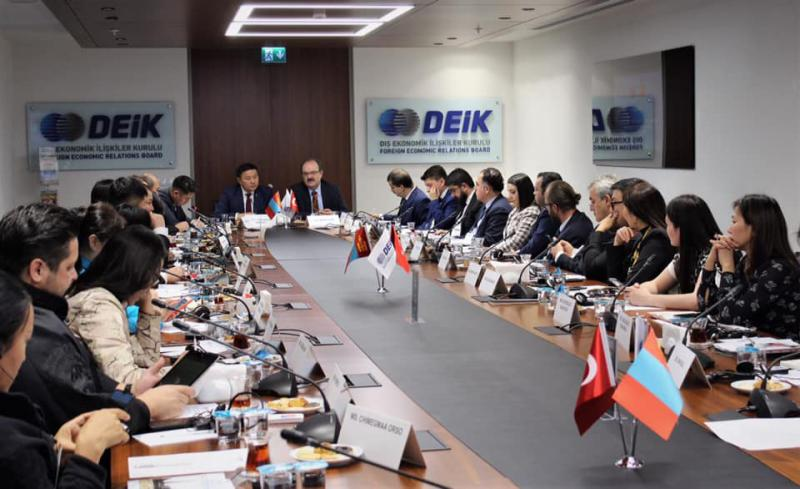 MONGOLIA-TURKEY BUSINESS FORUM ON TOURISM WAS HELD