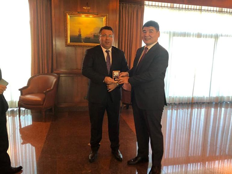 """ERDENES MGL"" LLC MEETS WITH NUROL HOLDING"