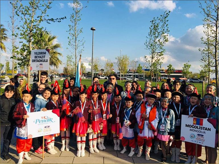 ULAANBAATAR CHINGELTEI DISTRICT STUDENTS PARTICIPATED IN THE 23TH INTERNATIONAL CHILDREN'S FESTIVAL IN TURKEY