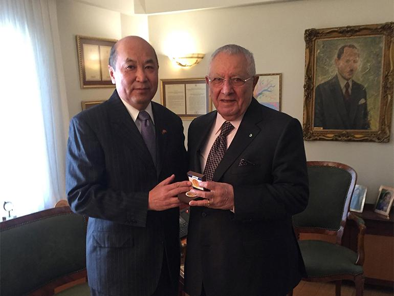 AMBASSADOR MET WITH THE NUROL HOLDING