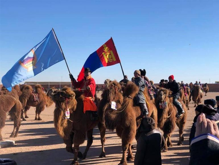 FESTIVAL OF 30 THOUSAND CAMELS HELD IN SOUTH GOBI