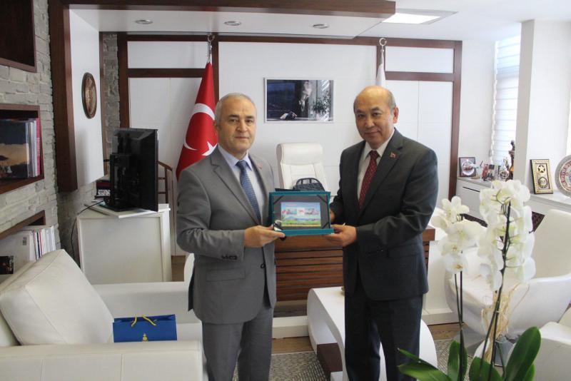 Ambassador met with Director General of Civil Aviation of the Republic of Turkey