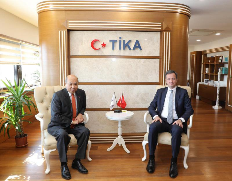 Ambassador met with the TIKA President