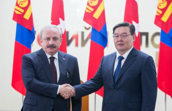 SPEAKER PROF. MUSTAFA ŞENTOP CONGRATULATED MR. ZANDANSHATAR