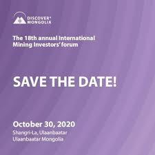 """DISCOVER MONGOLIA-2020"" FORUM TO TAKE PLACE ON OCTOBER 30"