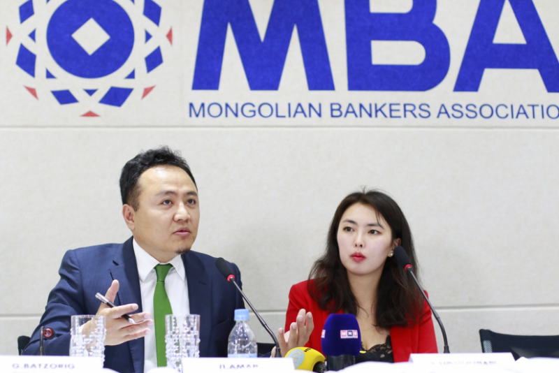 MONGOLIAN BANKERS ASSOCIATION RELEASES BANKING SECTOR DATA