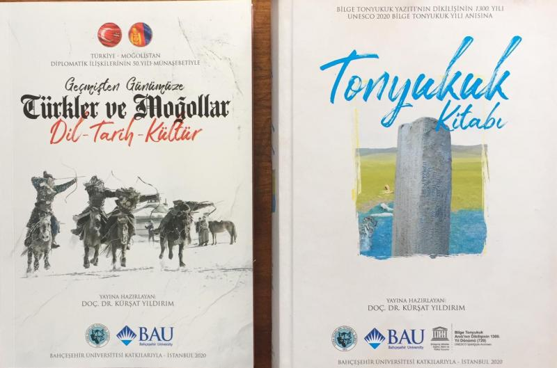 BOOKS ABOUT MONGOLIAN AND TURKISH RELATIONS ARE PUBLISHED