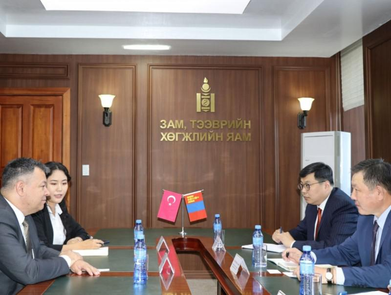 Mongolia - Turkey Bilateral cooperation in Transport Sector was dicussed