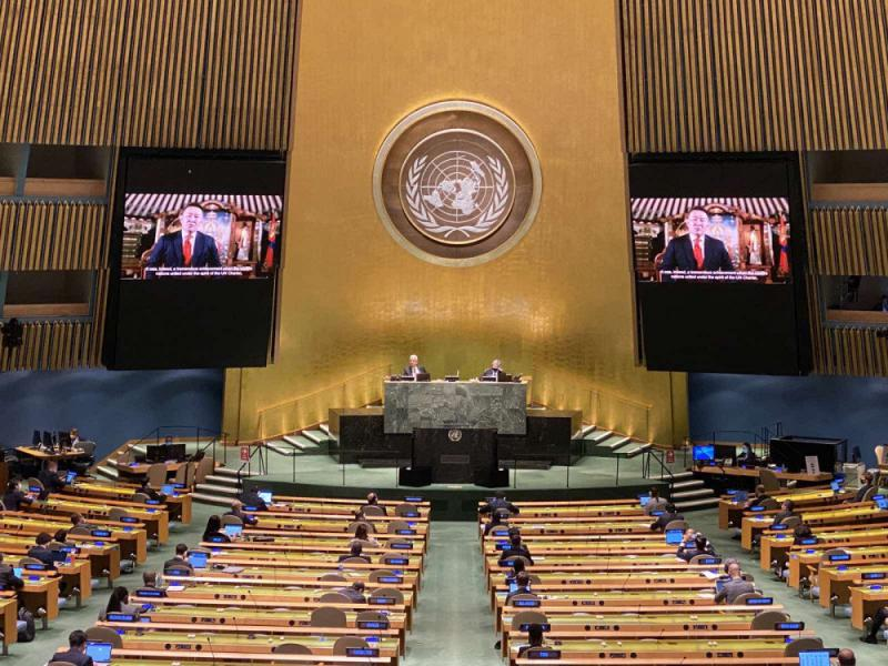 PRESIDENT BATTULGA ADDRESSES GENERAL DEBATE OF 75TH SESSION OF THE UNITED NATIONS GENERAL ASSEMBLY