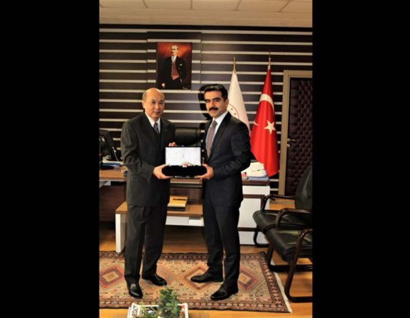 AMBASSADOR VISITED TURKEY'S GENERAL DIRECTORATE OF CUSTOMS