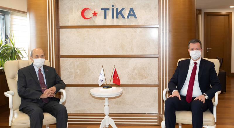 A MEETING WITH THE TIKA ACTING PRESIDENT