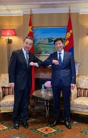 FOREIGN MINISTERS OF MONGOLIA, CHINA HOLD OFFICIAL TALKS