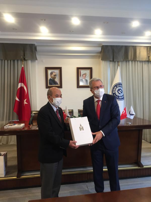RENEWING TIES BETWEEN SCIENCE AND TECHNOLOGY UNIVERSITY OF MONGOLIA AND EGE UNIVERSITY OF TURKEY