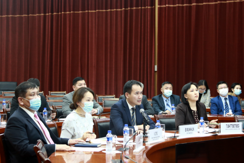Joint working group on advancing trilateral economic corridor meets