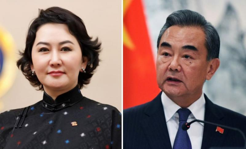Foreign Minister holds telephone conversation with her Chinese counterpart