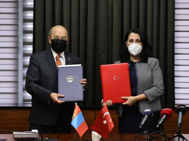 COOPERATION IN THE FIELD OF FREE ZONES -  A BILATERAL DOCUMENT BETWEEN MONGOLIA AND TURKEY SIGNED IN ANKARA