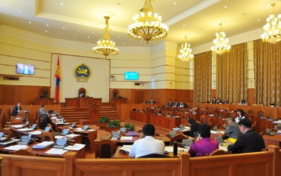 PARLIAMENT ADOPTS DISMISSAL OF CABINET