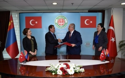 GENERAL PROSECUTOR OF MONGOLIA PAID VISIT TO TURKEY