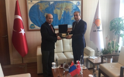 AMBASSADOR MEETS WITH DEPUTY CHAIRMAN OF THE JUSTICE AND DEVELOPMENT PARTY