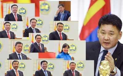 NEW CABINET TAKES OFFICE