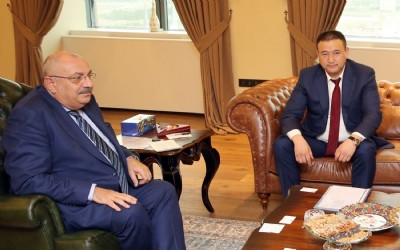 MINISTER OF FINANCE OF MONGOLIA VISITED TURKEY